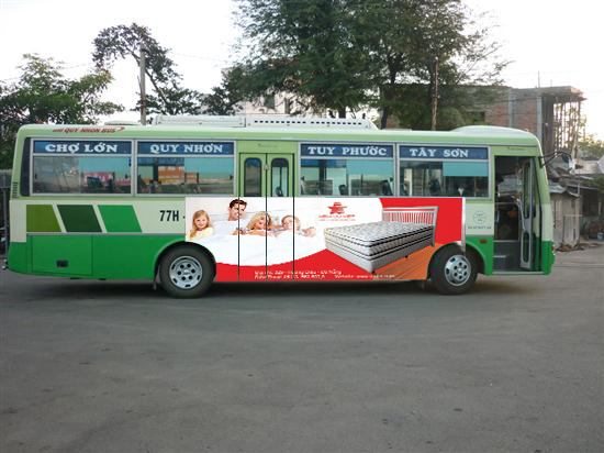 Bạn có thể chọn x bus để di chuyển khi du lịch Quy Nhơn